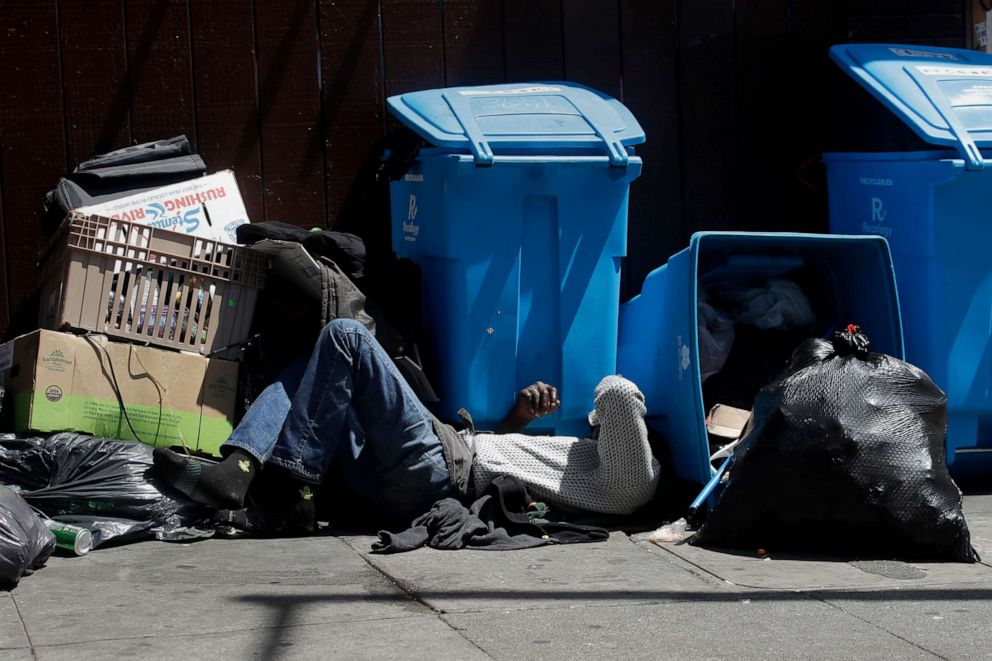 United States govt blames homeless for water woes in California