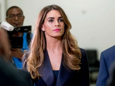 Hope Hicks faces questions from House panel probing potential Trump obstruction