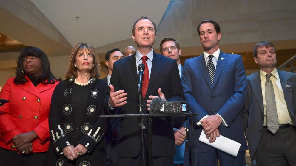 House Intel Committee votes to release GOP report finding no evidence of collusion | ABC News