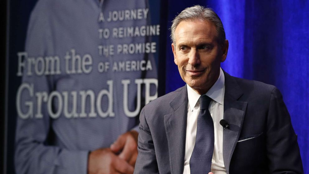 The Note: Reactions to Howard Schultz could make case for