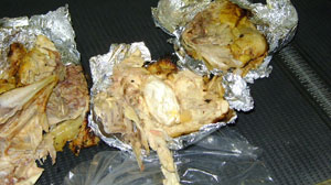 CBP Captures Chicken-Concealed Cocaine at Dulles