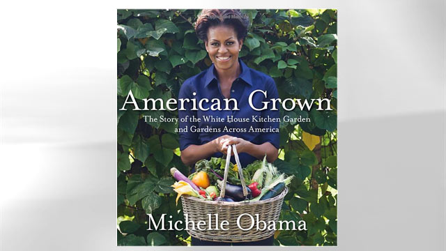 "PHOTO: The cover of Michelle Obama's book ""American Grown"" is shown here."