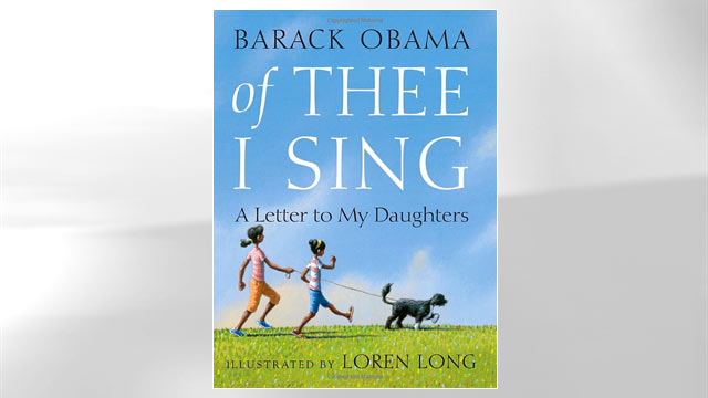 "PHOTO: The cover of Barack Obama's book ""Of Thee I Sing"" is shown here."