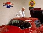 """PHOTO: Joe Biden tweeted this image from his official VP Twitter account on Jan. 18, 2013, with the caption: """"Q for @reddit AMA with my @TheOnion pal: A Trans-Am? Ever look under the hood of a Corvette? #imavetteguy ?VP."""""""