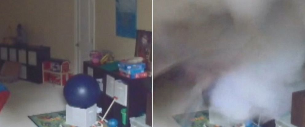 PHOTO: KOMO reports that a Bellingham, Wash. familys nanny-cam was recording when their boiler exploded.