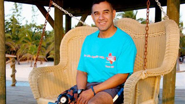 PHOTO: Staff Sgt. Alva, a 13-year Marine Corps veteran, was the first U.S. service member injured in Iraq.