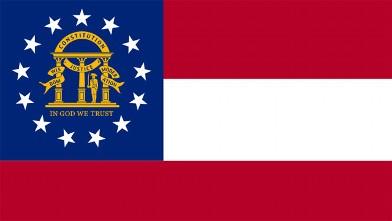 PHOTO: Georgia State Flag