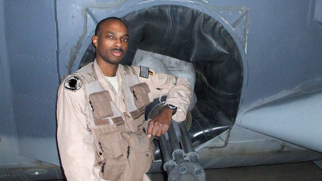 PHOTO: Staff Sgt. J.H. Smith received the Distinguished Flying Cross in 2008 for laying down protective fire from an AC-130 gunship as a Navy SEAL team conducted a dangerous raid inside Iraq.