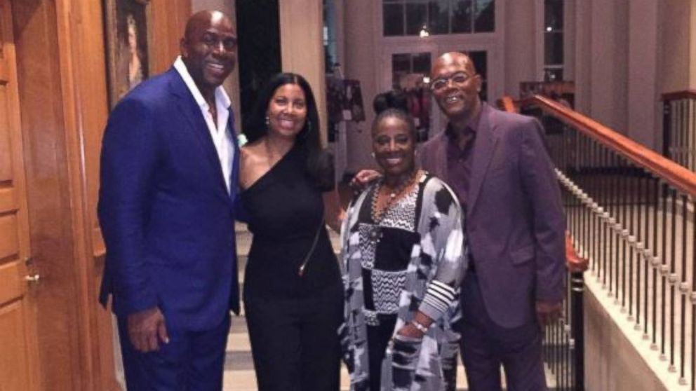 Ellen DeGeneres Magic Johnson Among Celebs At Obamas 55th Birthday Party The White House