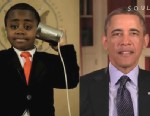 PHOTO: President Obama enlisted the help of the Kid President in a cute video posted online as he kicked off the 2013 lottery for the annual White House Easter Egg Roll.