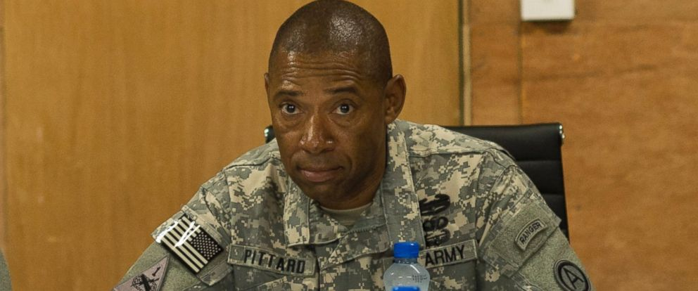 PHOTO: Army Major General Dana Pittard is pictured at a military facility on the outskirts of Amman, Jordan, Aug 15, 2013.