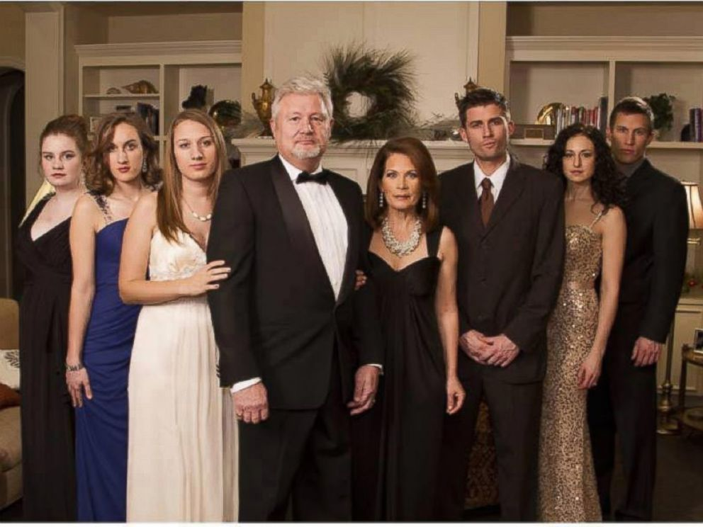 PHOTO: Michele Bachman shared this holiday photo on Facebook on January 10, 2014 with the caption, Bachmann Abbey.