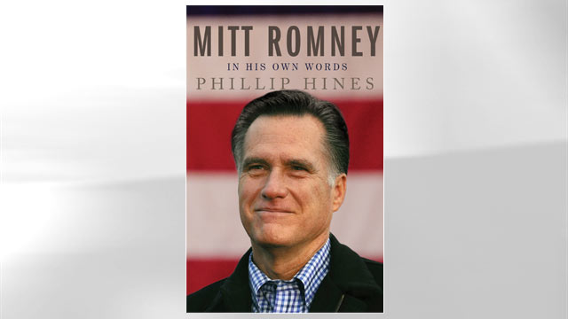 "PHOTO: The cover for the book ""Mitt Romney in His Own Words"" is shown."