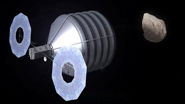 PHOTO: Asteroid capture