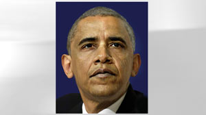 PHOTO A company in Canada shows what Obama might look like at 59 in through age progression software.