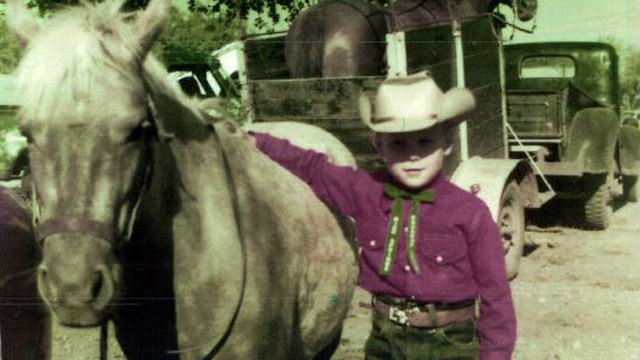 PHOTO: Rick Perry is seen as a young child in this undated file photo.