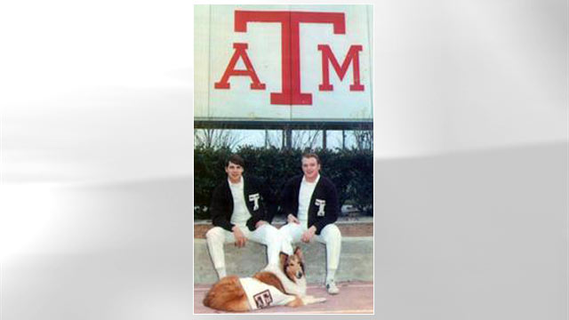 PHOTO: Rick Perry is seen at his alma matter, Texas A&M, in this undated file photo.