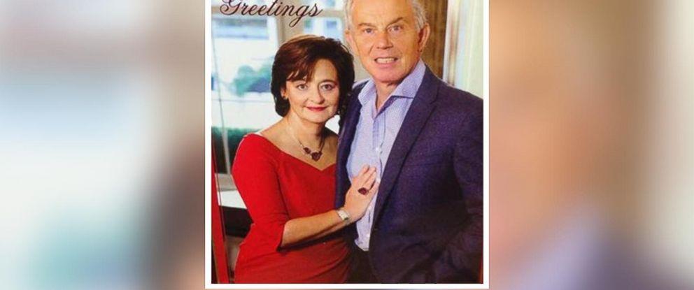 PHOTO: Tony Blairs 2014 holiday card.