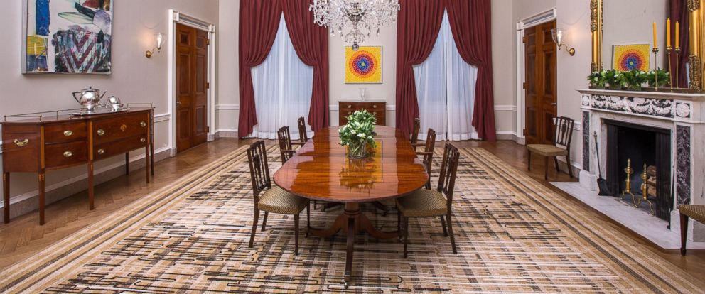PHOTO: The Old Family Dining Room Of The White House Is Pictured On Feb.