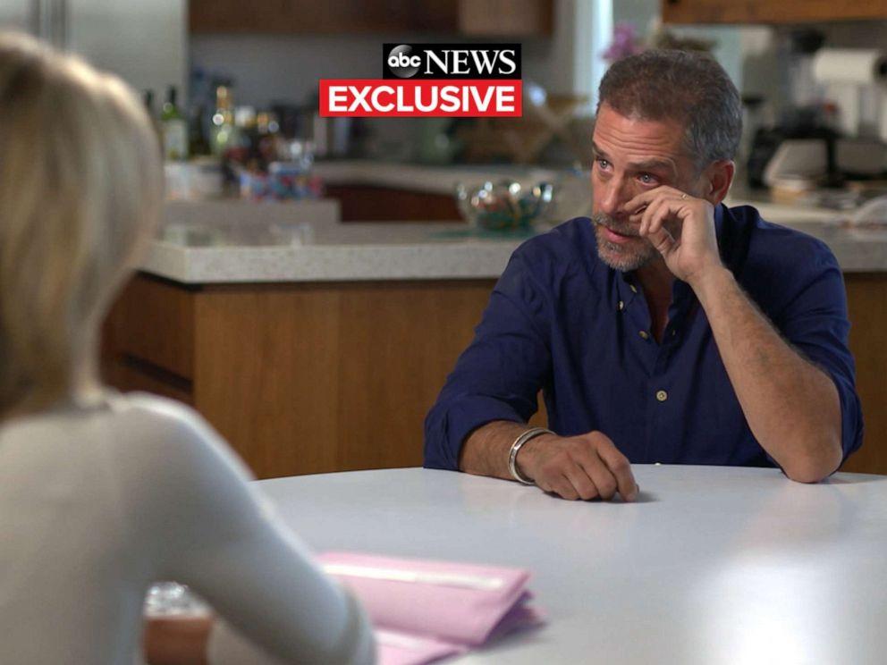 PHOTO: Hunter Biden talks with ABCs Amy Robach, October 2019.