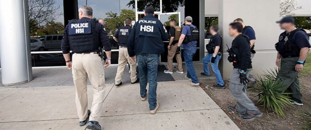 ICE arrests more than 280 people in massive workplace raid