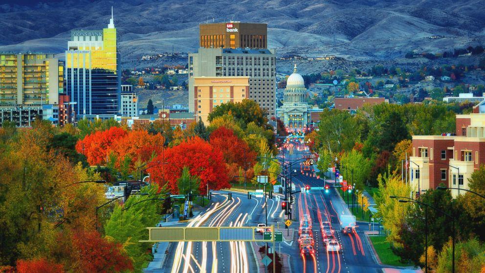 Idaho is the fastest growing state population, U.S. Census Bureau estimates.