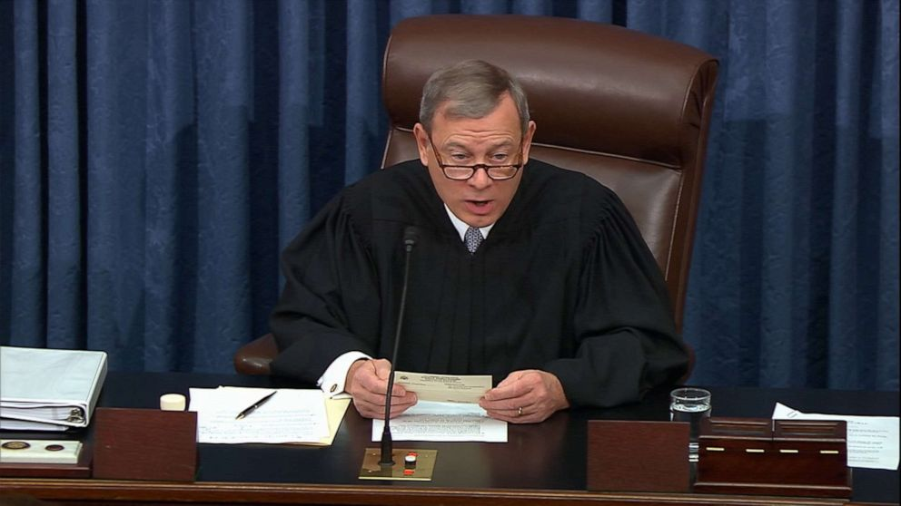 Democrats to ask Chief Justice Roberts to rule on witnesses amid fading hopes of winning vote