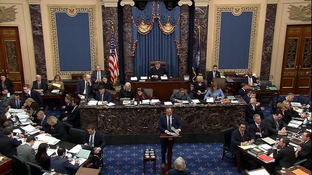 トランプimpeachment試作ライブの更新:閉引数の投票は無罪放免