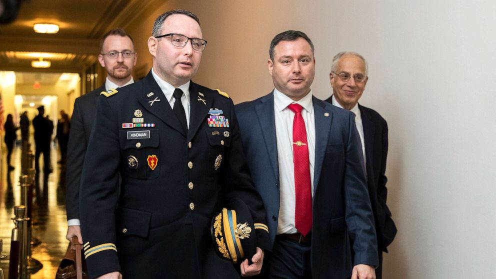 Why Lt. Col. Alexander Vindman wore his uniform at impeachment hearing