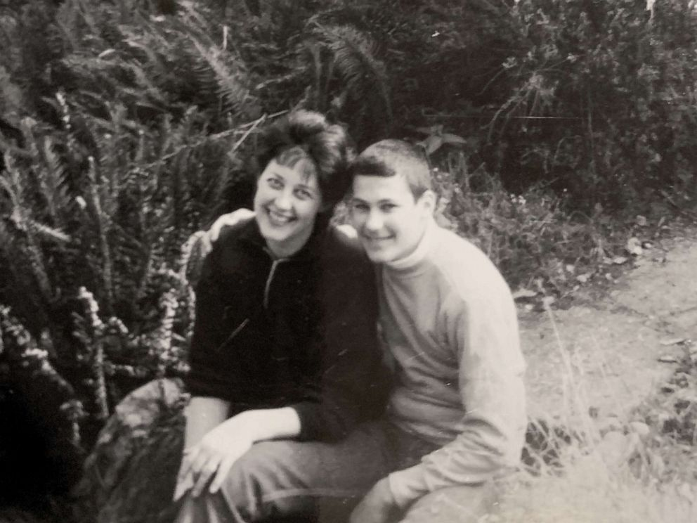 PHOTO: Gov. Jay Inslee and his mother Adele in an undated photo.