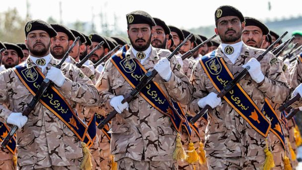 Trump administration designates Iran's Islamic Revolutionary Guard Corps a 'foreign terrorist organization'