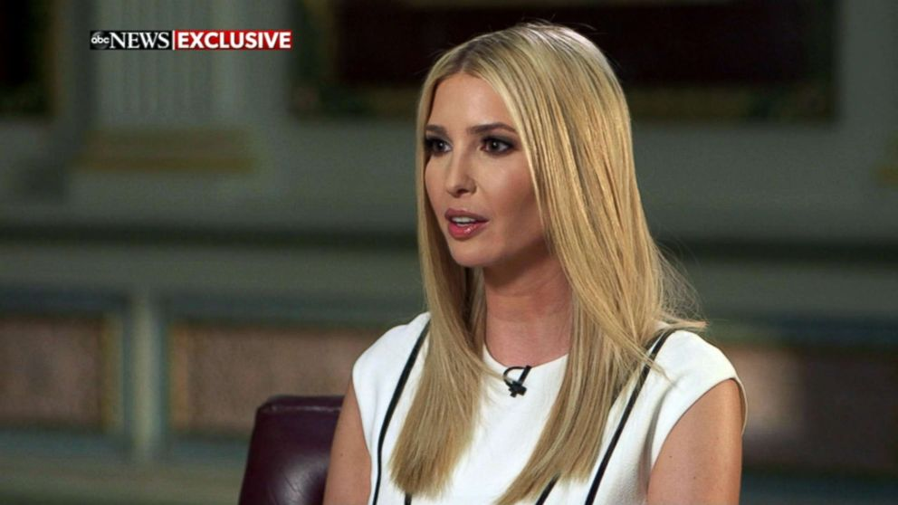 Ivanka Trump speaks with ABC News' Abby Huntsman in an exclusive interview, Feb. 7, 2019.