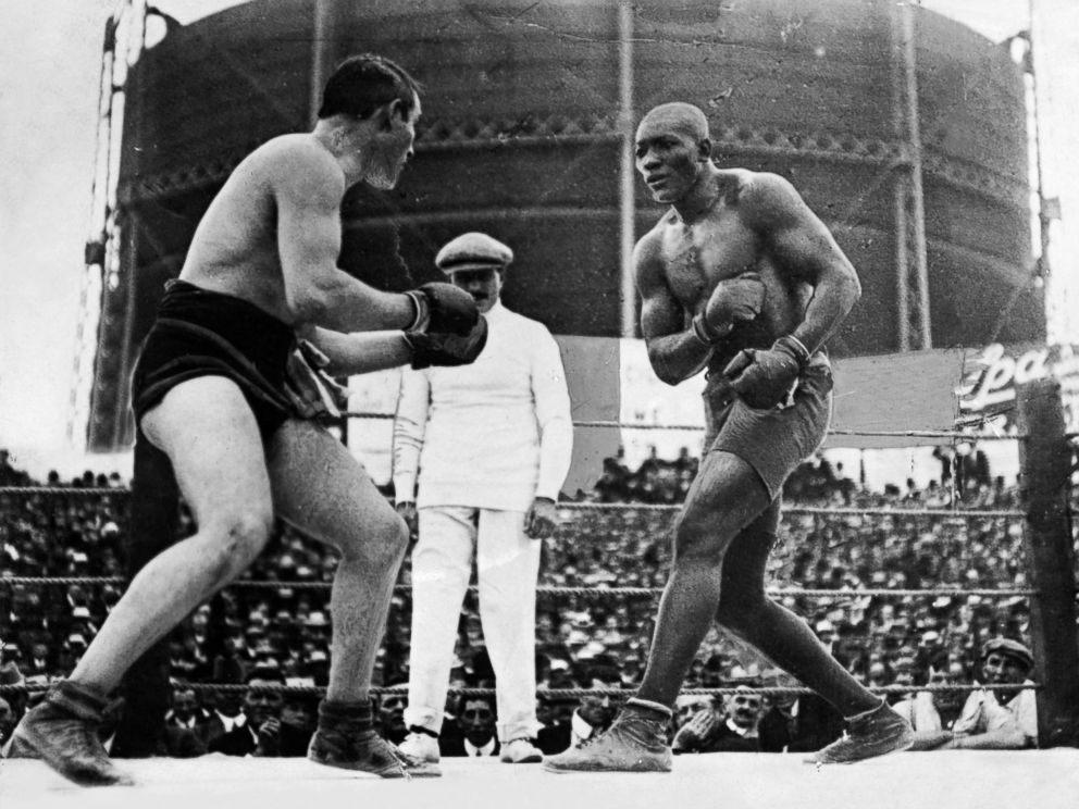 Boxer Jack Johnson is posthumously pardoned by Trump