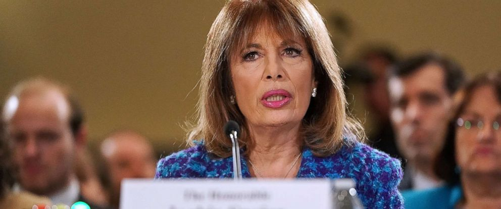 PHOTO: Rep. Jackie Speier testifies before the House Administration Committee in the Longworth House Office Building on Capitol Hill, Nov. 14, 2017 in Washington, D.C.
