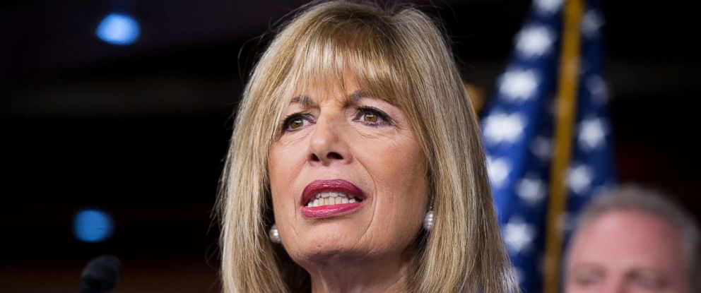 PHOTO: Jackie Speier attends a news conference in this Jan. 6, 2016 file photo.