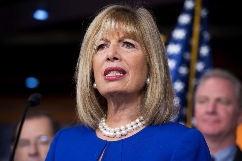 Jackie Speier attends a news conference in this Jan. 6, 2016 file photo.