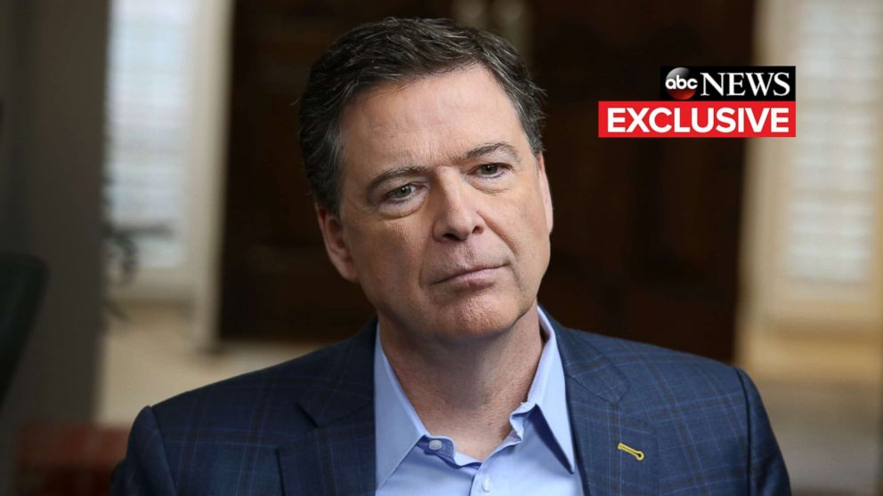 """ABC News Chief Anchor George Stephanopoulos sits down with former FBI director James Comey for an exclusive interview that will air during a primetime """"20/20"""" special on Sunday, April 15, 2018 on the ABC Television Network."""