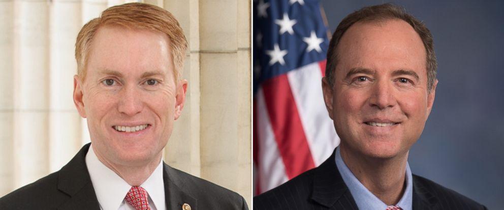 PHOTO: Pictured (L-R) are Sen. James Lankford and Rep. Adam Schiff.