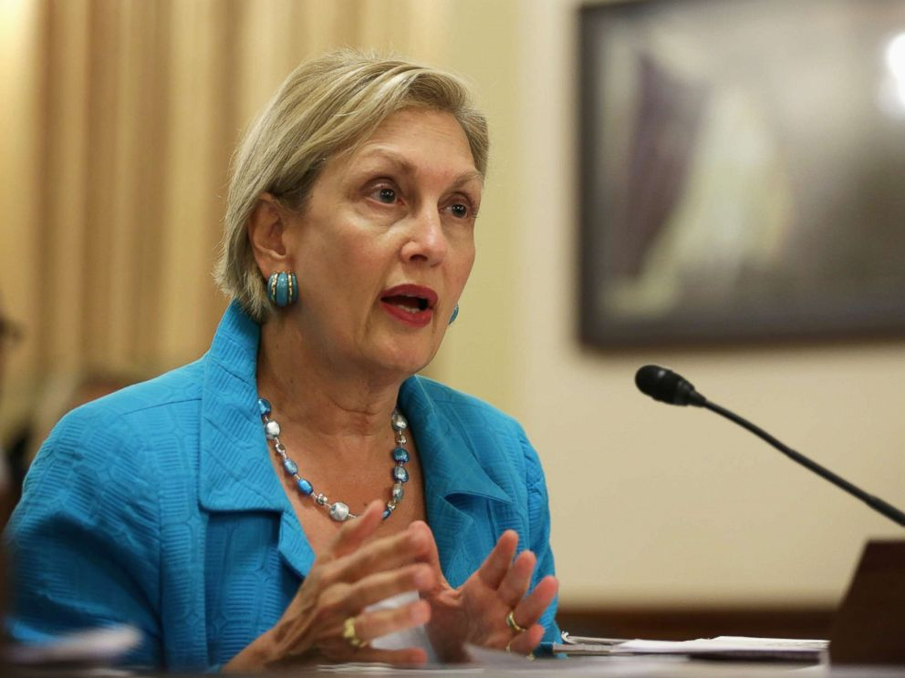 PHOTO: Jamie Gorelick testifies during a hearing before the House Homeland Security Committee July 23, 2014, on Capitol Hill.