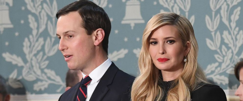 PHOTO: Ivanka Trump and husband Jared Kushner arrive to the State of the Union address at the U.S. Capitol in Washington, Feb. 5, 2019.