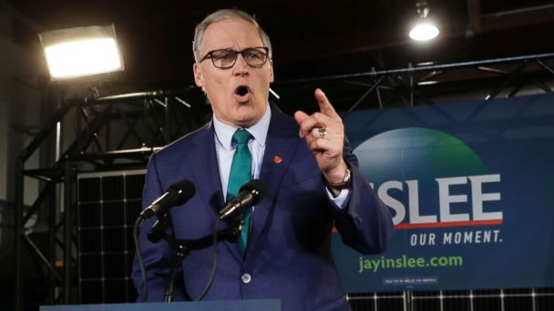'Enormous cost' of doing nothing on climate change: Washington Gov. Jay Inslee