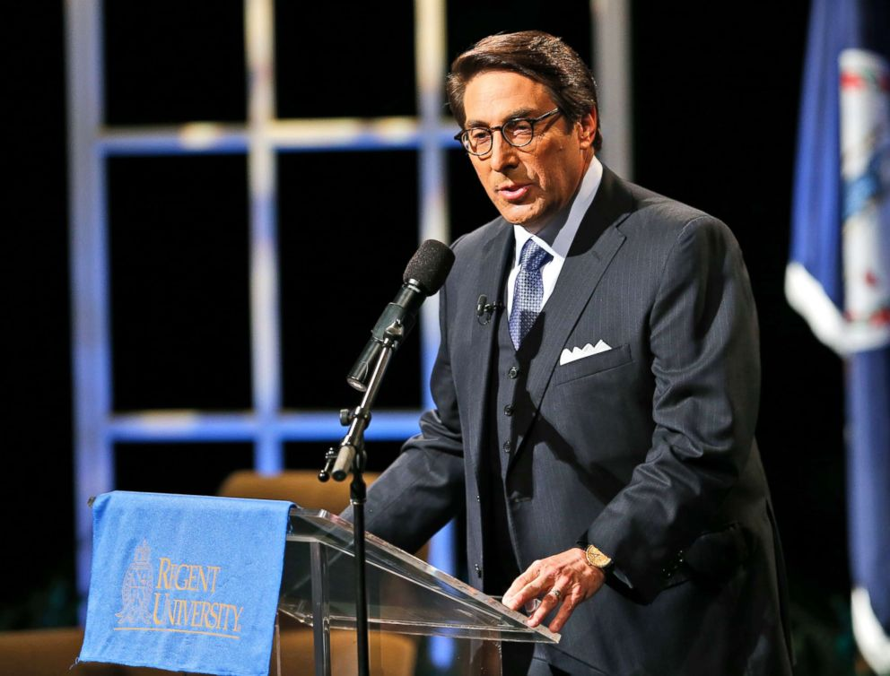 In this file photo dated Oct. 23, 2015, Jay Sekulow, Chief Counsel of the American Center for Law and Justice at Regent University, in Virginia Beach, Va.