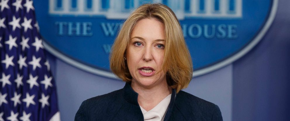 PHOTO: Assistant Secretary of Homeland Security for Cybersecurity and Communication Jeanette Manfra speaks during a briefing at the White House, Dec. 19, 2017, in Washington.