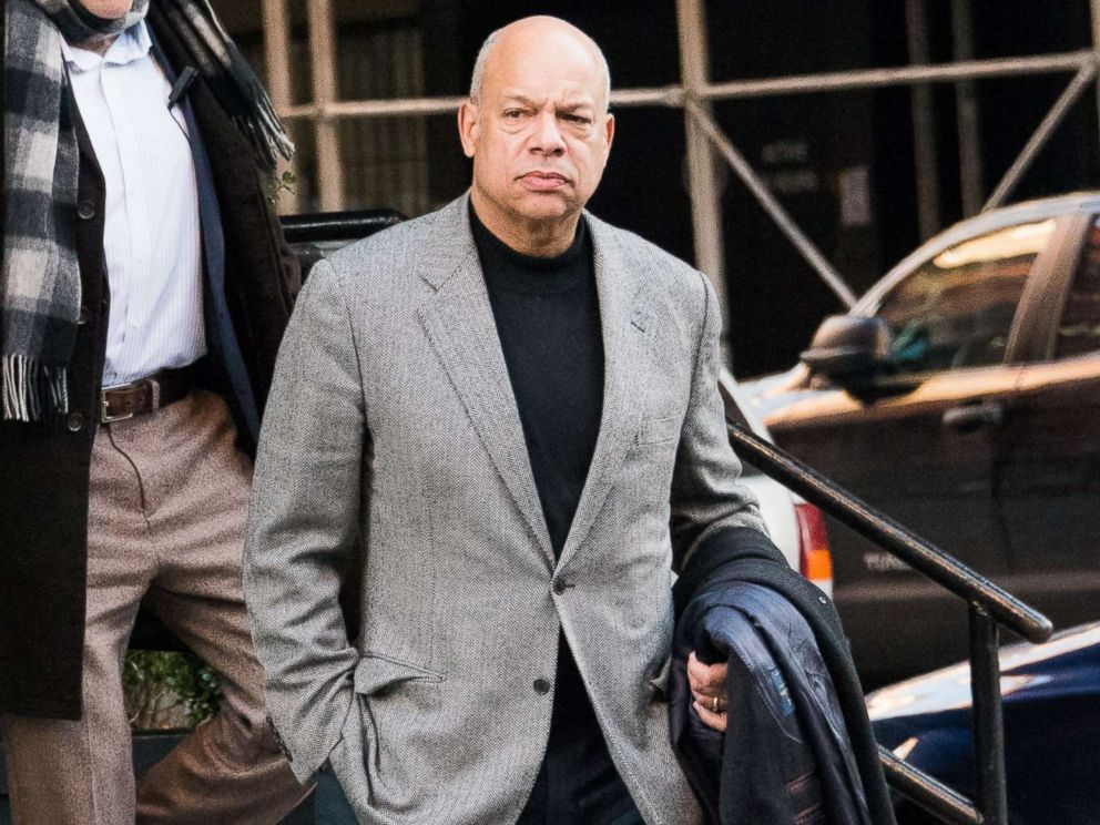 PHOTO: Jeh Johnson is seen on Dec. 20, 2016 in New York City.
