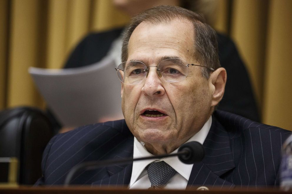 PHOTO: Representative Jerrold Nadler, a Democrat from New York, speaks during a House Judiciary Committee in Washington, July 17, 2018.