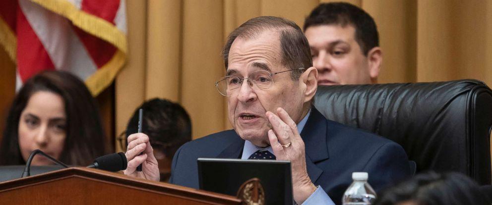 PHOTO: Judiciary Committee Chairman Jerrold Nadler speaks on Capitol Hill, Feb. 8, 2019, in Washington, D.C.