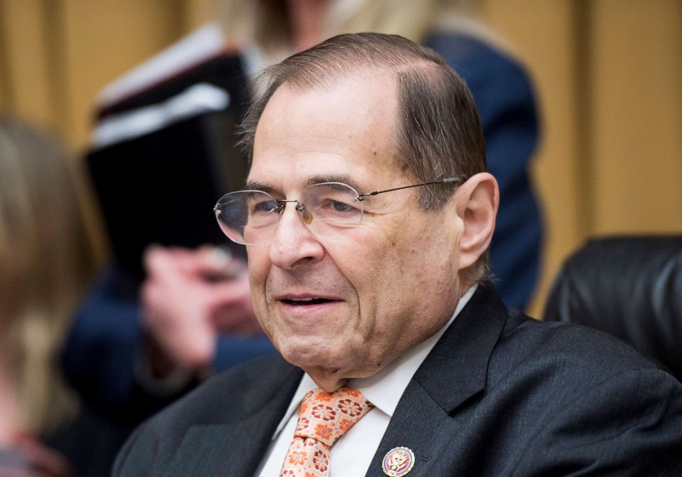 PHOTO: Chairman Jerry Nadler presides over the House Judiciary Committee hearing on Oversight of the U.S. Copyright Office on June 26, 2019 in Washington.