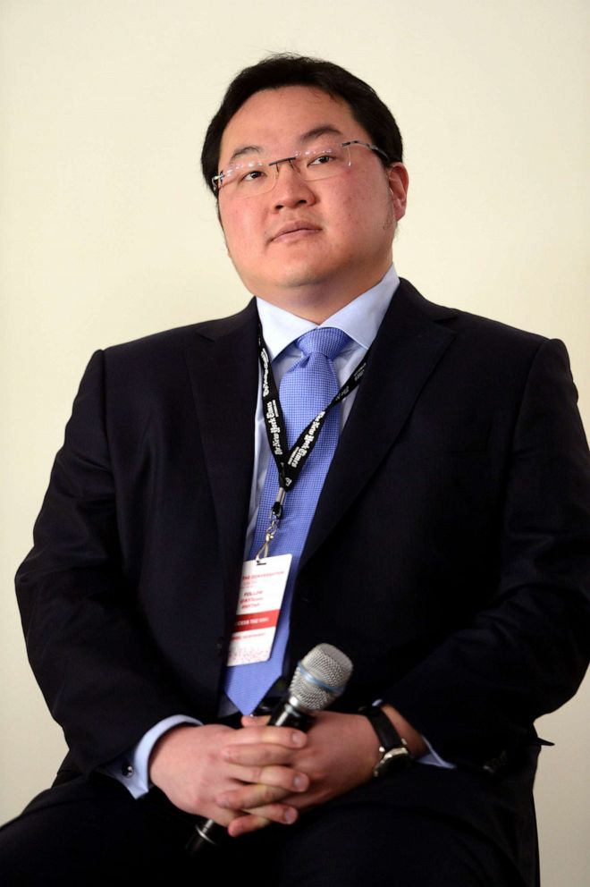 PHOTO: Jho Low, C.E.O., Jynwel Captial Limited and Co-Director Jynwel Charitable Foundation Limited, speaks a conference on May 29, 2014, in San Francisco.