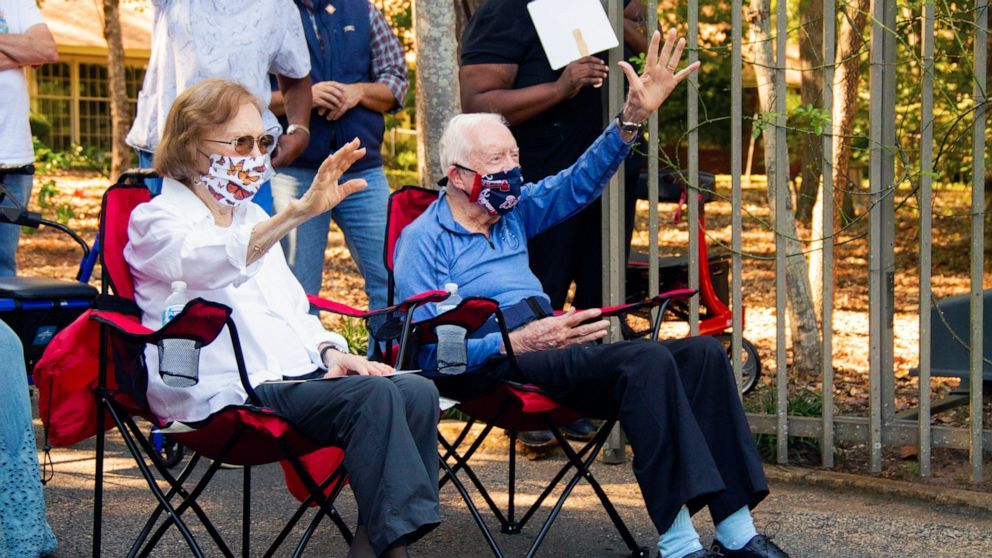 President Jimmy Carter Celebrates 96th Birthday With Socially Distanced Party Abc News