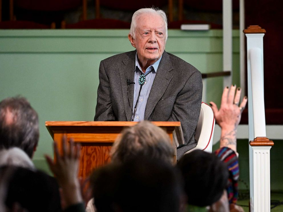 Former President Jimmy Carter, 95, hospitalized again after recent falls